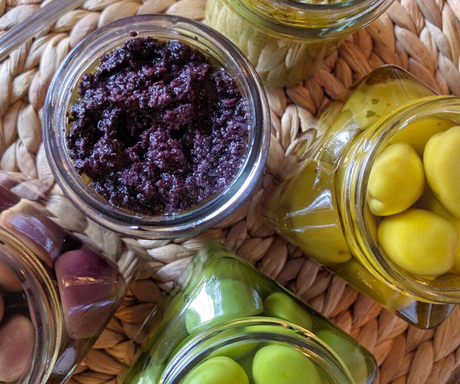 patè di olive nere leccino in extravergine