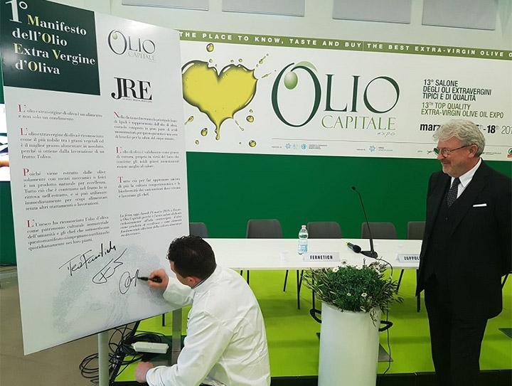 Manifesto Olio extravergine