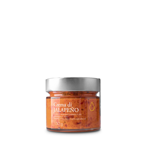 Crema di peperoncini Jalapeño in olio extravergine