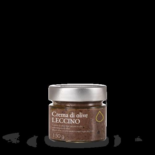 Crema di olive nere Leccino in olio extravergine