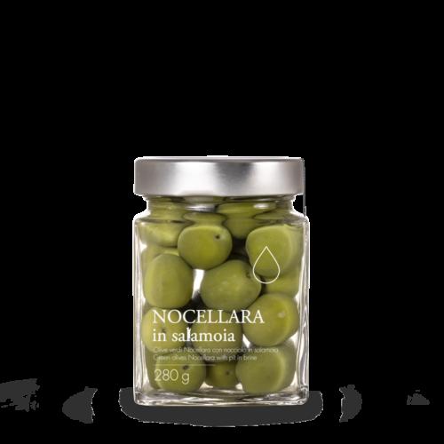 Olive verdi Nocellara dolci in salamoia